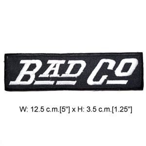 Accessories - Bad Company Patch, Iron On, Rock Band Patches, DIY